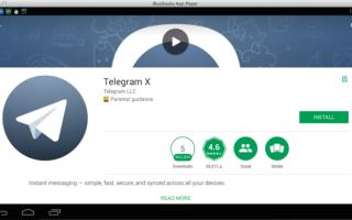 Telegram X – an alternative to Telegram