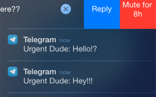 What are the notifications in Telegram and how to disable them