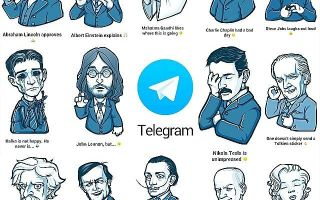 Instructions for creating stickers in Telegram